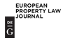 Logo European Property Law Journal