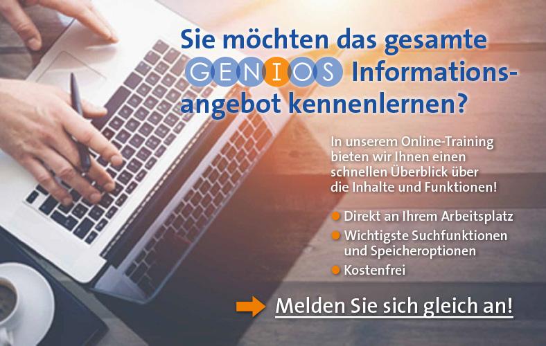 Genios Online-Training