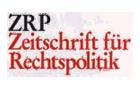 Logo Zeitschrift für Rechtspolitik