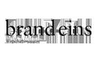 Logo brand eins Wirtschaftsmagazin